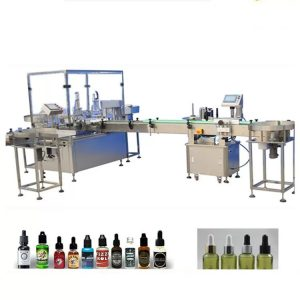 4 Polnilne šobe Stroj za polnjenje eteričnega olja
