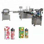 5-35 steklenic / min avtomatski stroj za polnjenje tekočine za kapalko iz stekleničk za 10 ml / 30 ml