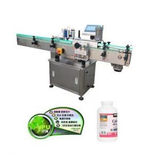 Avtomatski avtomatski vertikalni stroj za etiketiranje stekleničk