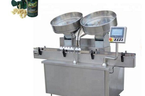Avtomatska naprava za štetje polnilnih tablet s kapsulami iz nerjavečega jekla