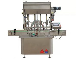Standardni stroj za polnjenje plastenk za omake CE Standard