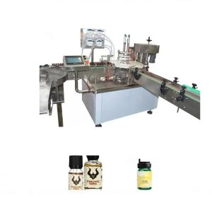 Stroj za polnjenje kemičnega eteričnega olja