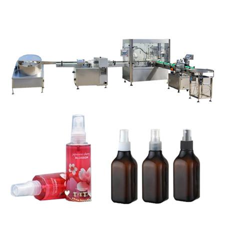 Stroj za polnjenje eteričnega olja