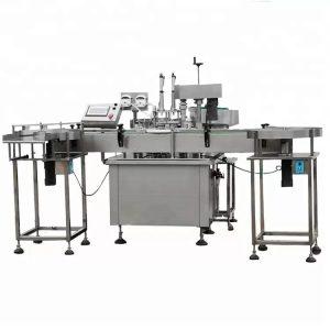 Popoln avtomatski stroj za polnjenje parfumov s peristaltično črpalko