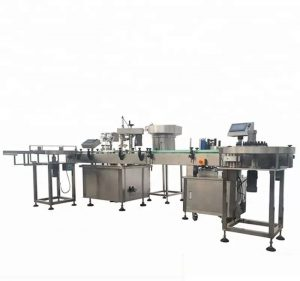 Stroj za samodejno polnjenje in zapiranje steklenic z visoko zmogljivostjo