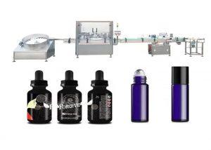 Stroj za dolivanje medicinskega eteričnega olja