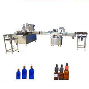 PLC stroj za polnjenje eteričnih olj