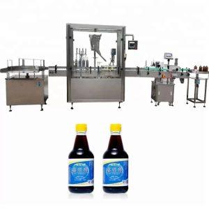 PLC nadzorni stroj iz steklenih steklenic s 4 šobami