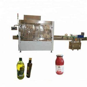 PLC nadzorni stroj za polnjenje in zapiranje PET plastenk