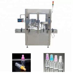 PLC nadzorni sistem za polnjenje parfumov