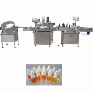 Stroj za polnjenje eteričnega olja s peristaltično črpalko