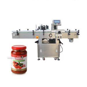 Stroj za označevanje izdelkov z okroglimi steklenicami
