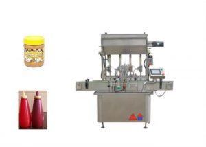 Stroj za polnjenje polnilnic za polnjene tekoče omake