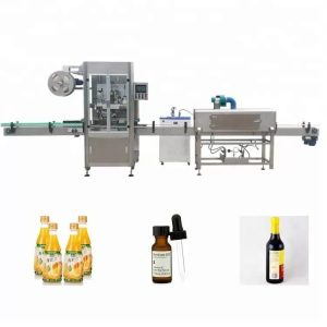 Stroj za etiketiranje steklenic z rokavi