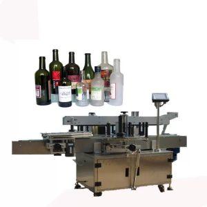 Sprednji in zadnji stroj za etiketiranje steklenic