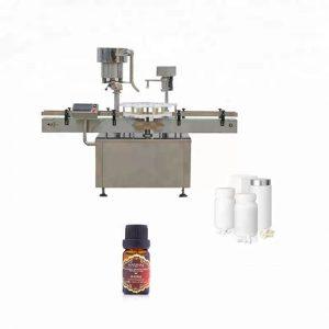 Stroj za zapiranje steklenic iz nerjavečega jekla, ki se uporablja v medicini