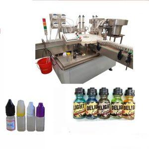 Naprava za etiketiranje zaslona na dotik za majhne steklenice