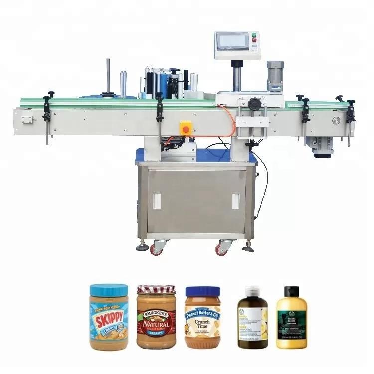 Navpični samolepilni stroj za etiketiranje steklenic za medicino