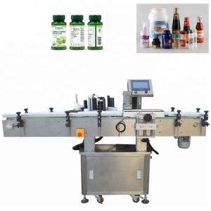 Navpični stroj za etiketiranje vial iz nerjavečega jekla